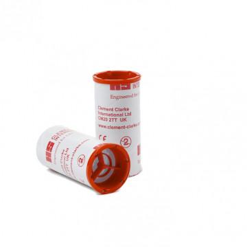 Embout carton à valve anti-retour (expiratoire) Ø 28 mm (par 500 unités)